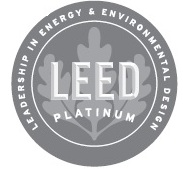 LEED Platinum certification logo