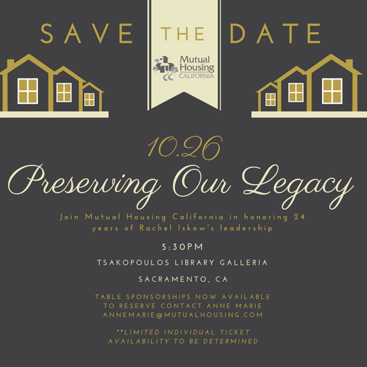 Preserving Our Legacy Save The Date graphic