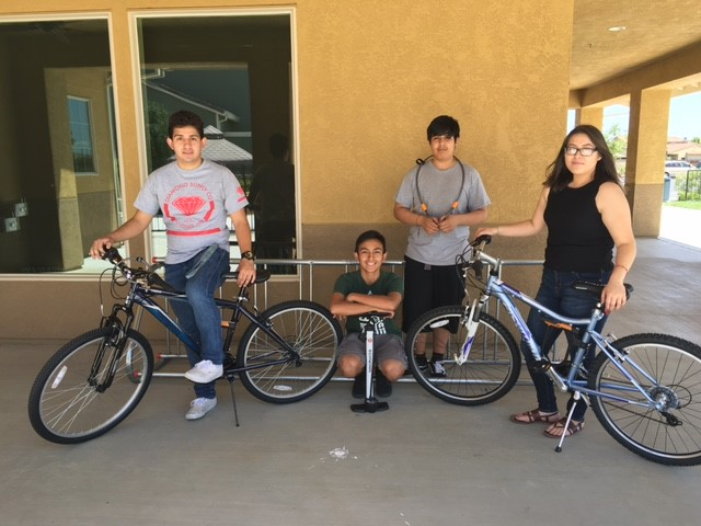 Mutual Housing California Bicycle Share Program Youth Interns